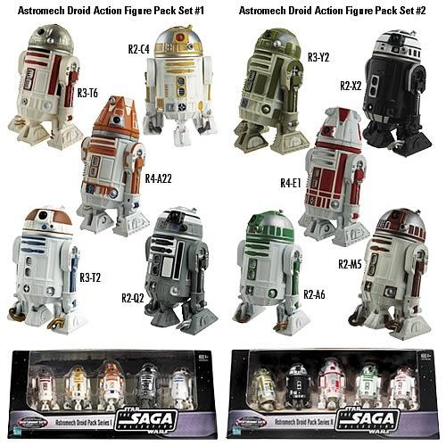 Exclusive Star Wars Astromech Droid Action Figure Set