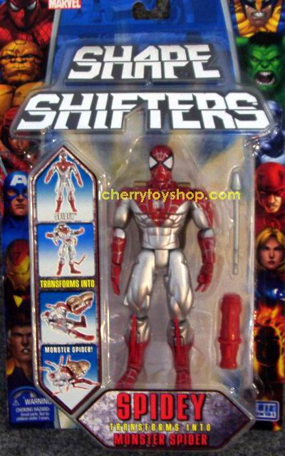 Marvel Shape Shifters - Spidey