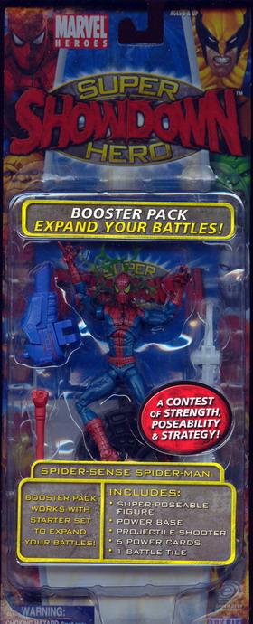 MARVEL SUPER HERO SHOWDOWN SERIES 2 Spider Sense Spider man