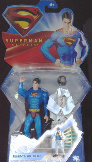 Superman Return the movie - Clark-To-Superman