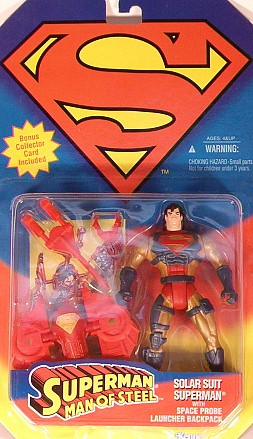 Superman - Solar suit Superman