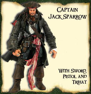 Pirates of the Caribbian 2 -Captain Jack Sparrow