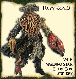 Pirates of the Caribbian 2 - Davy Jones