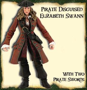Pirates of the Caribbian 2 - Prirates Disguised Elizabeth Swann