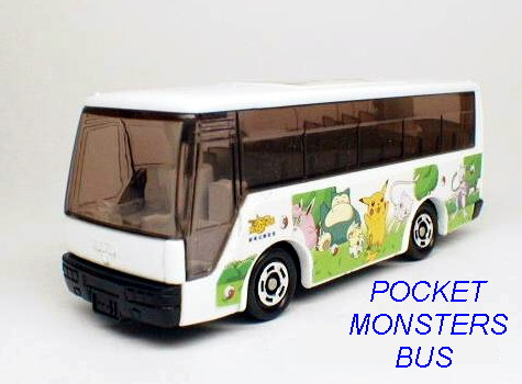 No#38 POCKET MONSTERS BUS