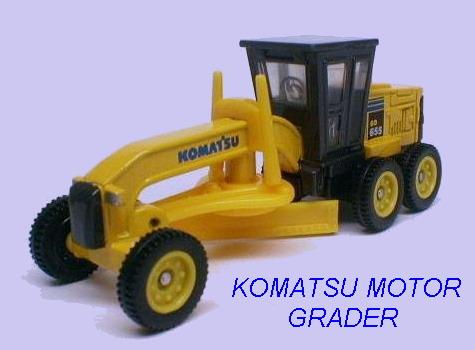 No#24 KOMATSU MOTOR GRADER