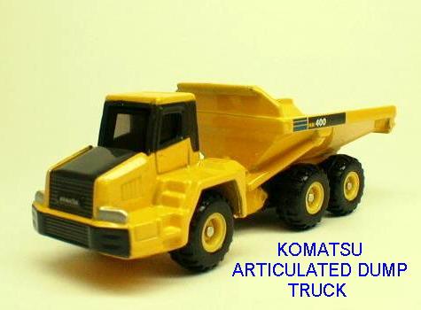 No#120 KOMATSU ARTICULATED DUMP TRUCK
