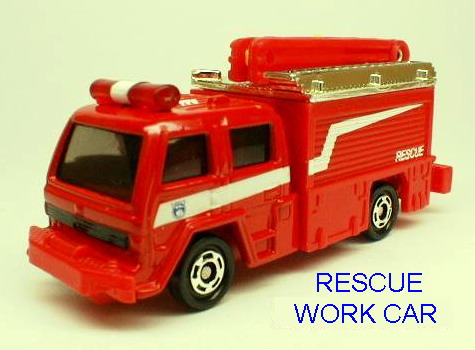 No13 RESCUE WORK CAR
