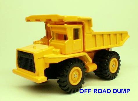 No#102 Off Road Truck (TEREX 33-07 Dump Truck)