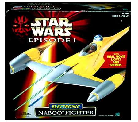 Eletronic Naboo fighter