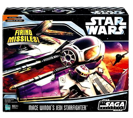 Star Wars Mace Windu's Jedi Starfighter Vehicle