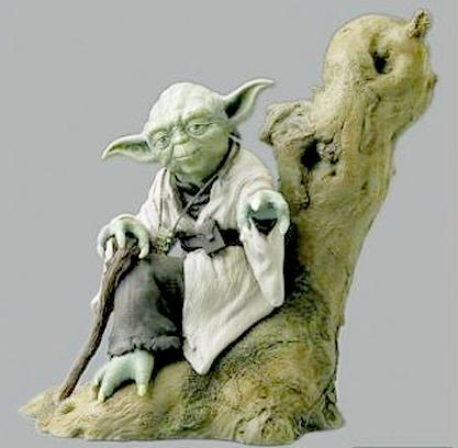 Yoda Soft Vinyl Model Kit (LOOSE)