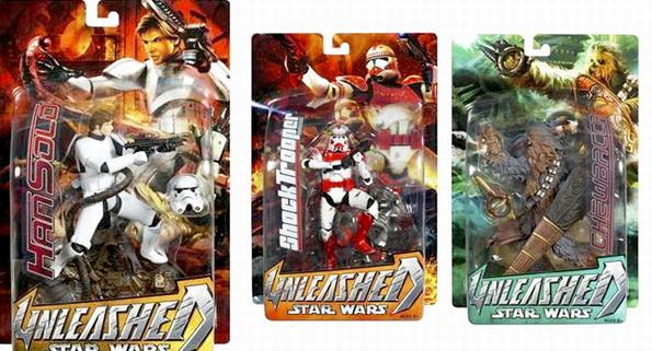 Starwars Unleashed - Series 15 Set of 3
