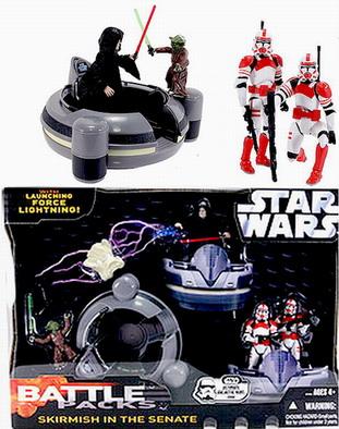 Star Wars Skirmish at the Senate Battle Packs