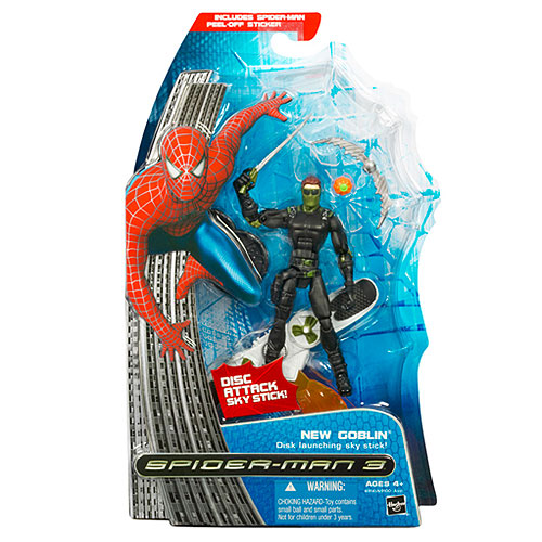 Spider-Man 3  New Goblin with disk skystick