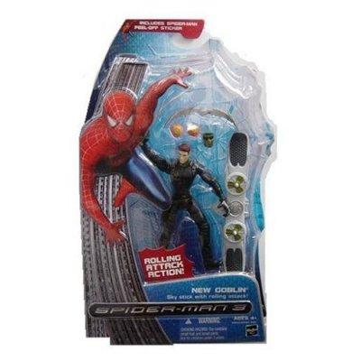 SPIDERMAN 3 CHASE VARIANT NEW GOBLIN NO MASK UNMASKED