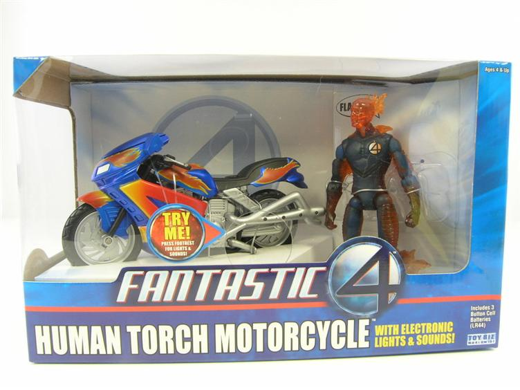 Fantastic 4 - Human Torch Motorcycle