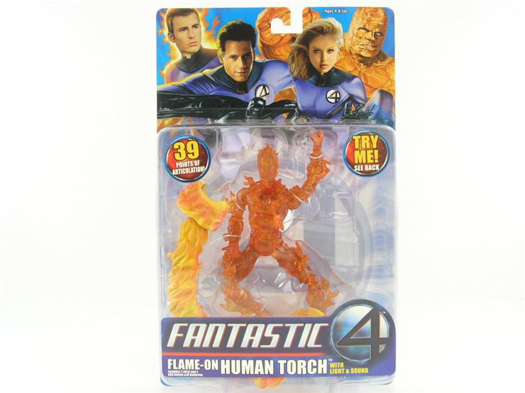 Fantastic 4 - Flame on - Human Torch