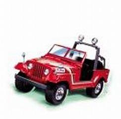Bburago MetalKit - Jeep Wrangler 1980