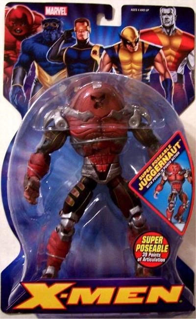 New X-Men Juggernaut