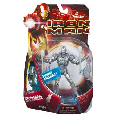 Iron Man Mark 02 - Firing Missile