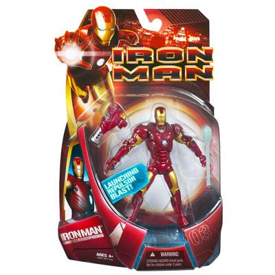 Iron Man Mark III - Launching Repulsor Blast