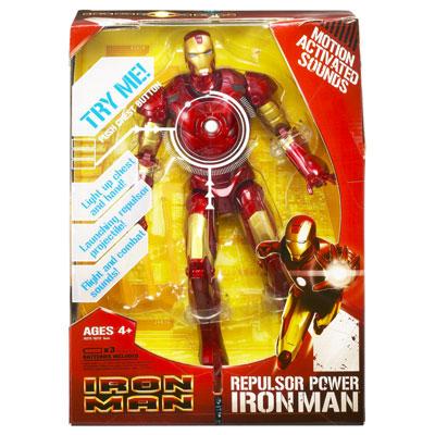 """12"""" Iron Man - Repulsor-Power Iron Man"""