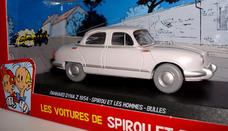 The cars of Spirou and Fantasio -  Panhard dyna z