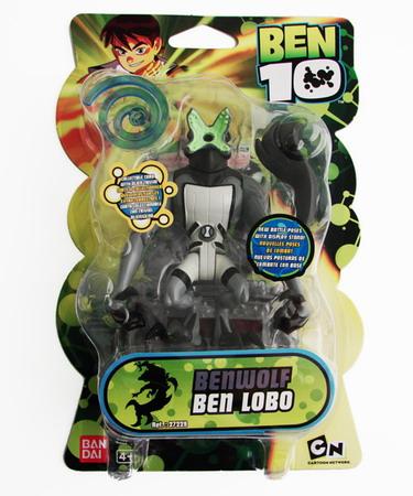 Ben 10 - 10cm Benwolf Battle Figure
