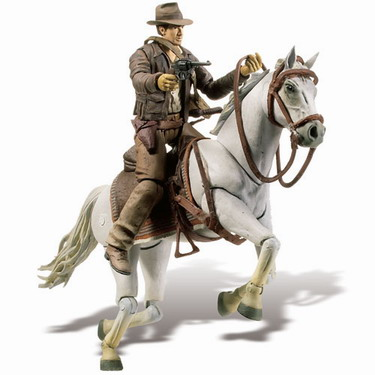 Raiders of the Lost Ark - Indiana Jones with Horse