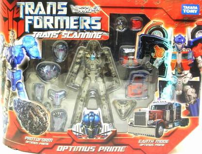 Trans Scanning Optimus Prime