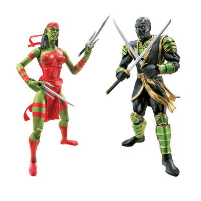 Marvel Legends 2-Pack: Elektra and Hands Ninja