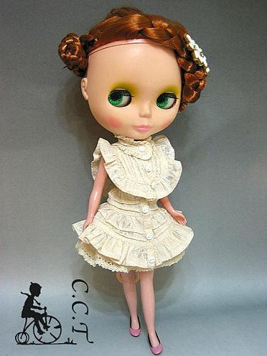 CCT - Ivory 3 Pcs. Dress Outfit
