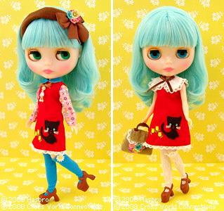 "Shop Limited  Blythe doll \""Miss Sally Rice\"""
