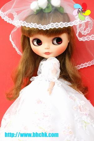 BHC FN279 First Bride Wedding Dress Set