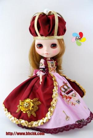 BHC FN313 Lotus Queen Dress Set