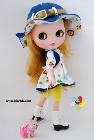 BHC FN331 Happy Forest Dress Set