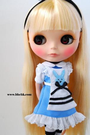 BHC FN334 Mini Alice Dress Set (Blue)