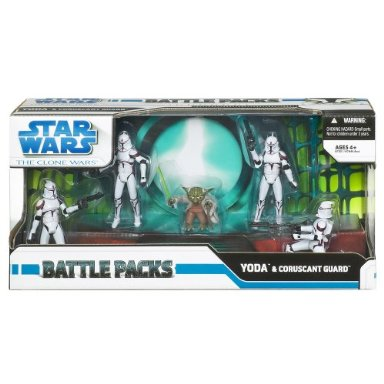 Yoda Coruscant Guard Battle Pack (Target Exclusive)