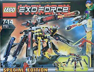 Lego7721: Combat Crawler X2