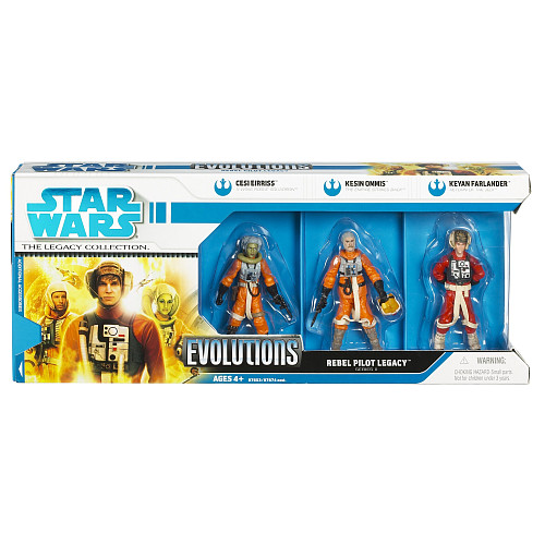 Evolutions The legacy of Rebel pilots