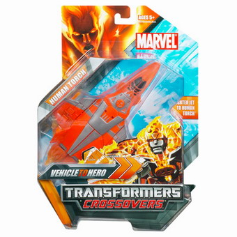 Marvel TRANSFORMERS CROSSOVERS Human Torch