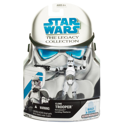 STAR WARS The Legacy Collection: CLONE TROOPER CORUSCANT Landing Platform