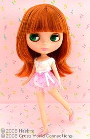 Blythe Doll New Prima Dolly Aubrena