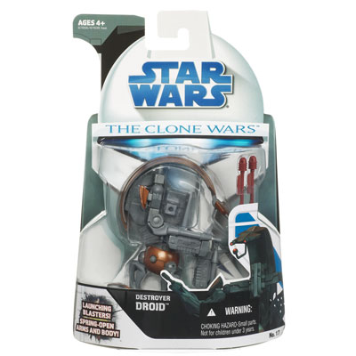 The Clone Wars Destroyer Droid
