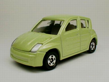 Tomica No27 TOYOTA Will Vi  (with Barge)