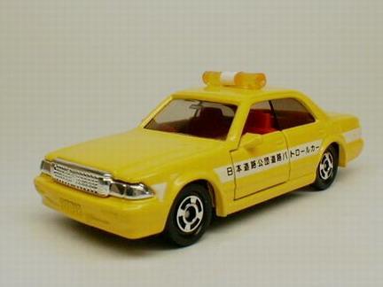 Tomica No28  HI-WAY PUBLIC CO. PATROL CAR  (RED Tomica)