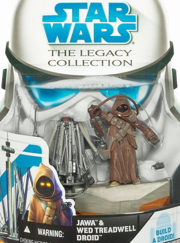 Star Wars The Legacy Collection Build-A-Droid: Jawa & Wed Treadwell Droid