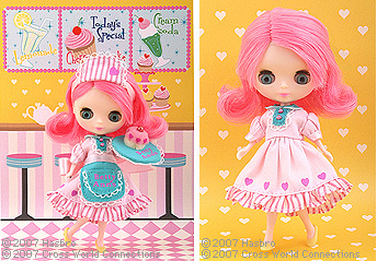 Petite Blythe toyrus limited Betty Ann\'s Diner