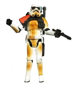 Star Wars Escape from Mos Eisley Sandtrooper Figure Loose